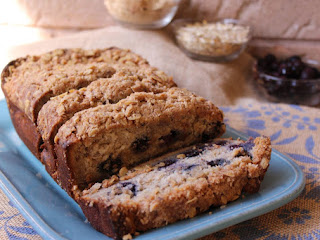 Blueberry-banana Streusel Bread Recipe