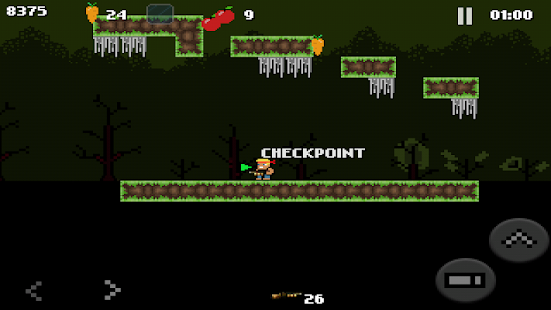 ZombieRun - Retro platformer- screenshot thumbnail