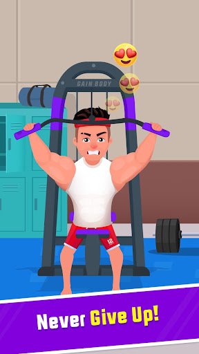 Muscle Workout Clicker- Bodybuilding game  screenshots 2