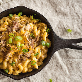 Pulled Pork Mac and Cheese.