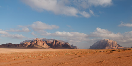 Photo: An hour after sunrise, the landscape looked different