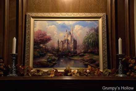 A New Day at the Cinderella Castle on my Mantle