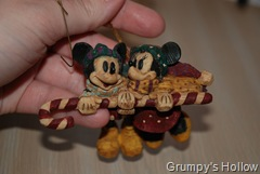 Mickey and Minnie Christmas Ornament