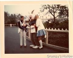 Mom, The Grump, White Rabbit, and Alice