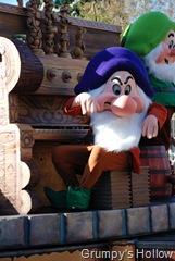 Grumpy in Mickey's Dreams Come True Parade