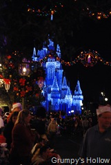Cinderella Castle with Dream Lights from Main Street