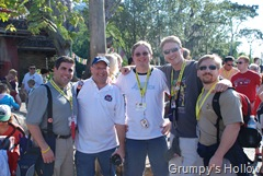 Lou Mongello, Jeff Pepper, Biblioadonis (aka George Taylor), Andy Taylor, Grumpwurst (aka Ray)