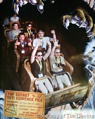 Hamming it up on Expedition Everest