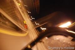 High Speed Turn on Test Track