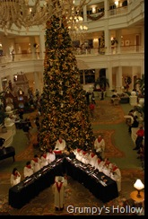 Christmas Decorations at Grand Floridian