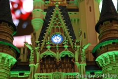 Model of Cinderella Castle in The World of Disney