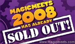 Magic Meets is Sold Out