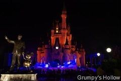 Cinderella Castle with Partners Statue