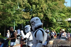 Storm Troopers Outside Tatoonie Traders