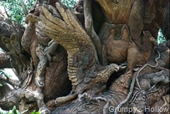 Animal Carving on Tree of Life