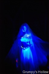 Ghost Bride in Haunted Mansion