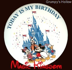 Magic Kingdom Birthday Button