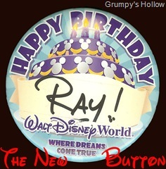The New Disney Birthday Button