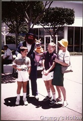 Young Grumpy with Brother, Mom, Figment and Dreamfinder