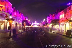 Main Street USA at Night