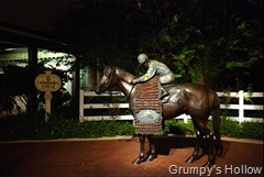 Saratoga Springs Resort Jockey Statue