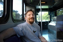 Grumpy On The Bus