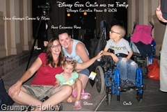 Disney Geek Collin and the Family @ Disney's Electrical Parade