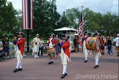 Drum & Fife Corp at EPCOT's American Adventure