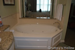 Jetted Garden Tub at Saratoga Springs Resort