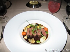 Colorado Lamb with Potato Gnocchi and Summer Vegetables