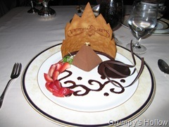 Pyramid of Tanzanian Chocolate Mousse