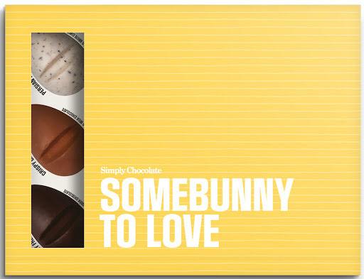 Somebunny to love - chokladask med 12 bitar - Simply Chocolate