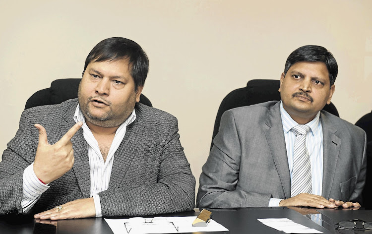 Brothers Ajay and Atul Gupta. File photo.