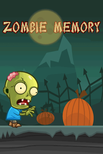Zombie Matching Card Game