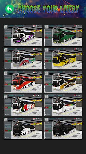 Mod Bussid Bus SR2 XHD Tronton 1.2 screenshots 1