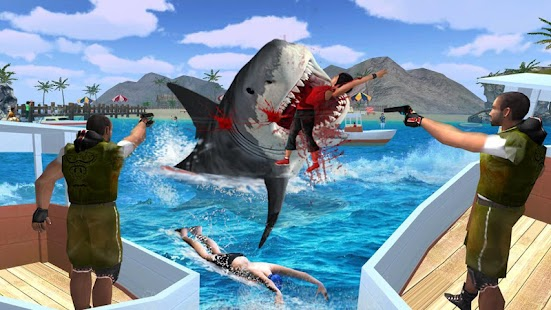 Angry Shark Attack screenshot