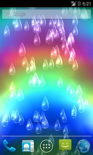 Light Rain Live Wallpaper