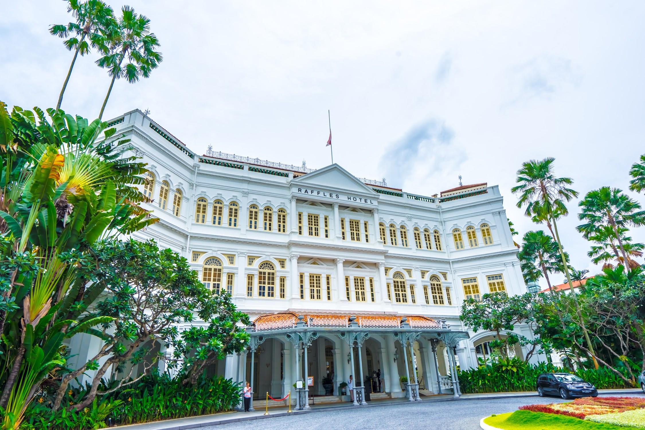 シンガポール ラッフルズ・ホテル1