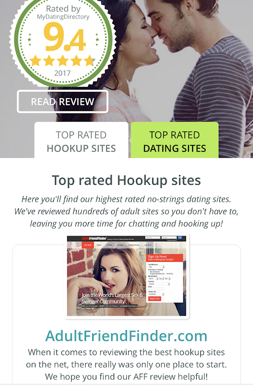 Best rated adult dating sites