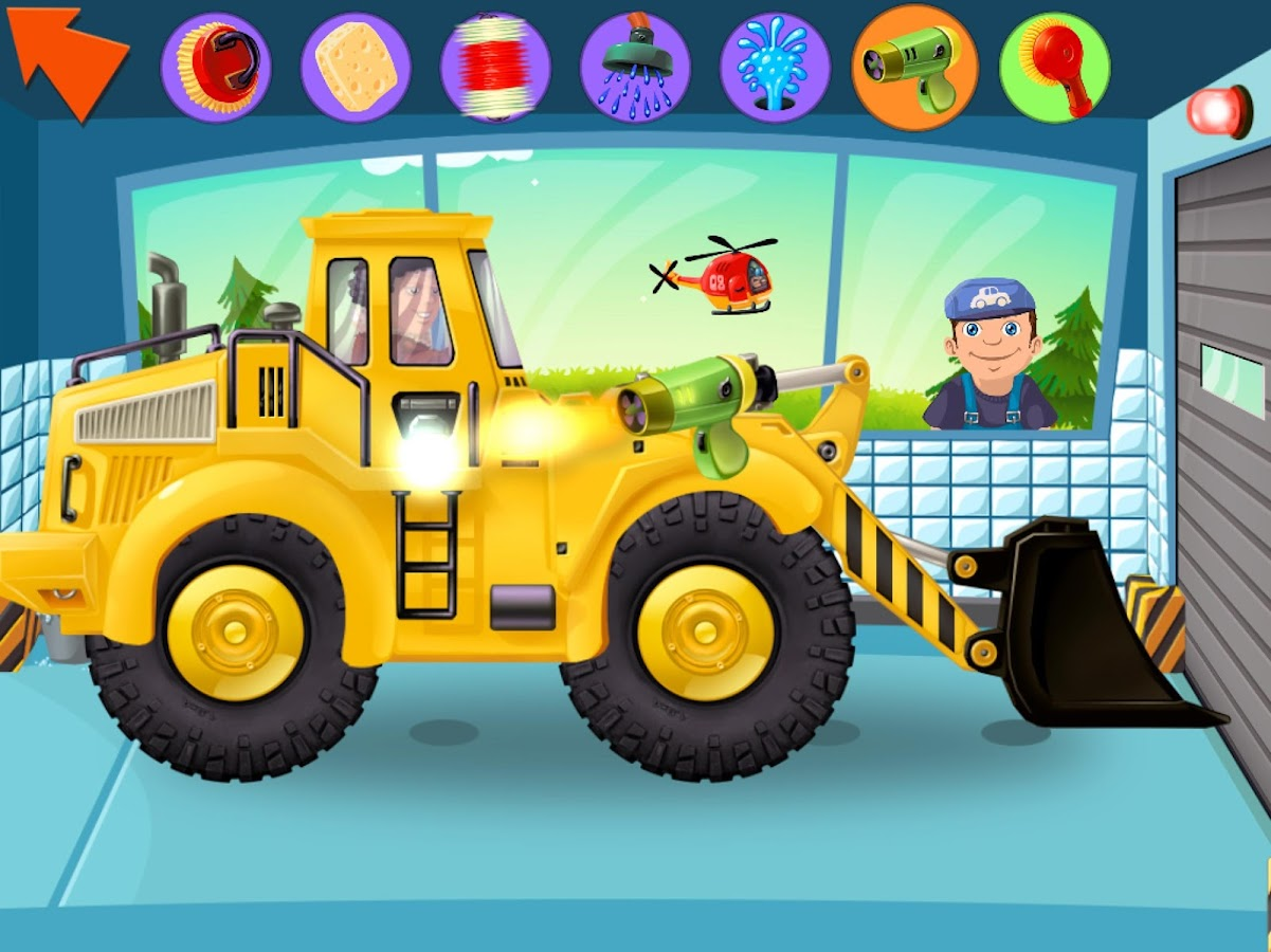 little car wash the free cars fun game for kids android apps