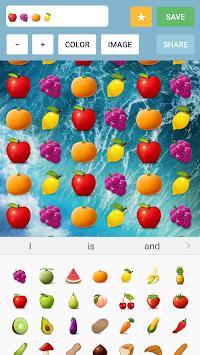 Emoji Wallpaper Maker Poster