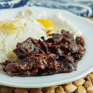 Tapa (Filipino Dried Cured Beef).