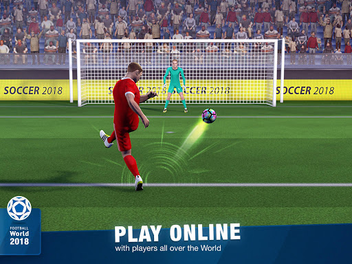 FreeKick Soccer World 2018 1.6.6 gameplay | by HackJr.Pw 9