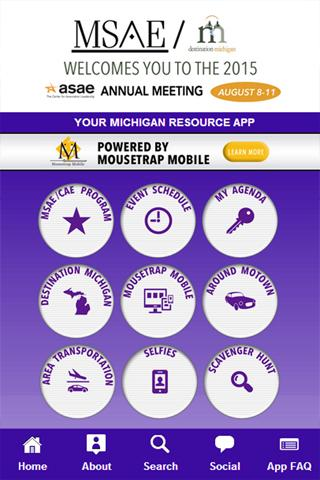 The MSAE 2015 App