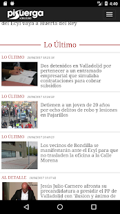 Pisuerga Noticias- screenshot thumbnail
