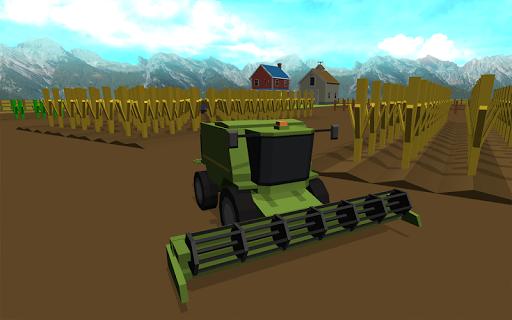 塊状の農業用トラクターシミュレーター