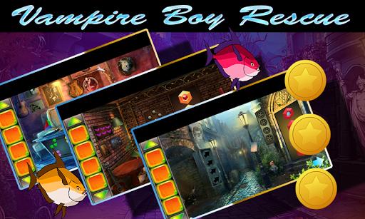 Best Escape Game 433 Vampire Boy Rescue Game 1.0.0 screenshots 3