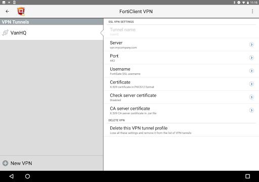 FortiClient VPN 6.2.3.0332 screenshots 7