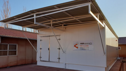 Assmang Khumani mine mobile data centre