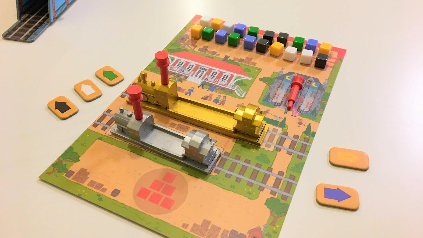 ゲームの準備|【レビュー】レイル・パス (Rail Pass)